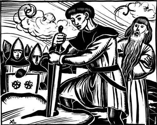 Personnages - Keu chevalier de la table ronde ...